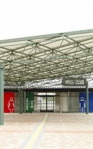 道の駅「まくらがの里古河」 茨城県古賀市 用途:道路休憩施設
