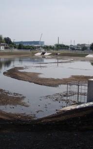 雨水調整池築造工事 栃木県下野市 調整池工事