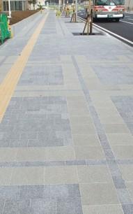ブロック舗装工事 栃木県小山市 舗装工事